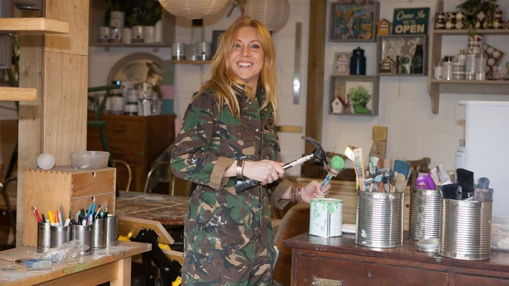 Upcycling and sustainable interior designed Lynne Lambourne