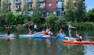 Planet Patrol paddleboarding clean up World Ocean Day