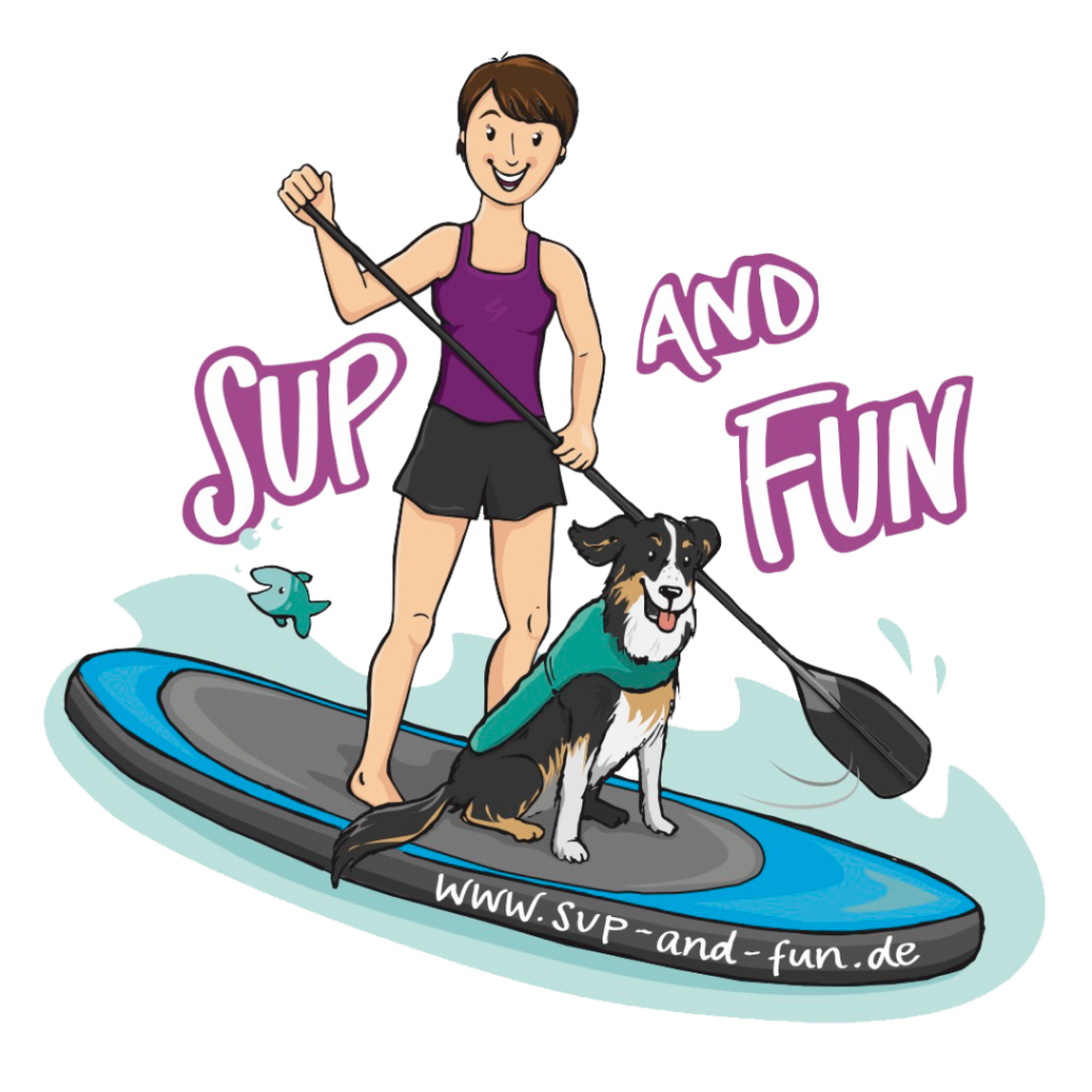 SUP and FUN logo