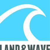 Land & Wave Logo